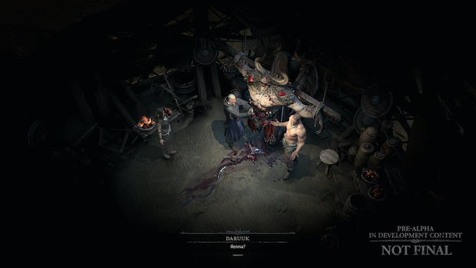 Diablo 4 In-Game Conversation