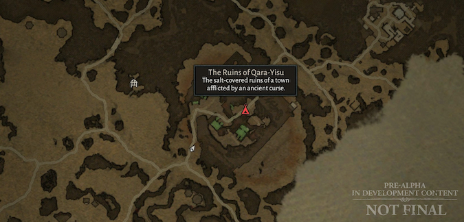 D4 Map point - The Ruins of Qara-Yisu