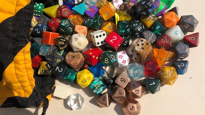 Looking for dice to play D&D? The places to buy dice are as varied as the sets you'll discover.