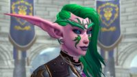 Night Elf customization options in Shadowlands let you add scars, control your ear size, and even add vines to your aesthetic