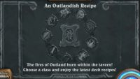 Cook up something hot in An Outlandish Recipe Hearthstone Tavern Brawl
