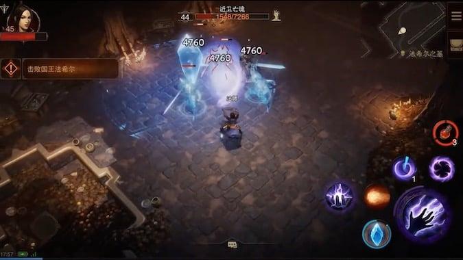 Diablo Immortal Gameplay Trailer - Game Interface