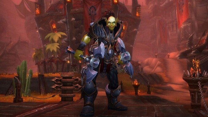 Thrall's balls! These new Shadowlands Orc customization options are amazing!