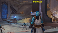 Pelagos is WoW's first transgender character, and you'll meet him in Shadowlands