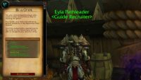 What should it take to become a Guide in WoW's upcoming Mentor system?