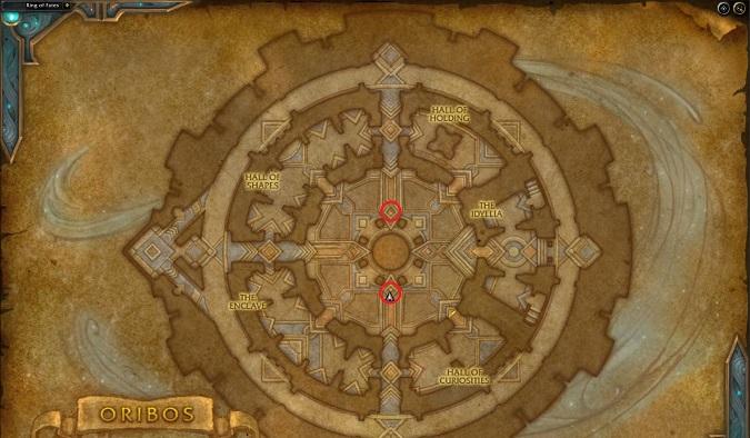 Oribos - Ring of Fates