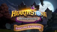 Storm, earth, and fire will rock Hearthstone Battlegrounds, with new Heroes and Elementals joining the game!