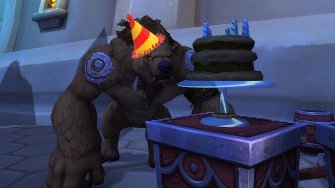 The Queue: Birthday Bear!