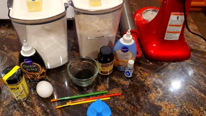 Black Sugar Cookie ingredients