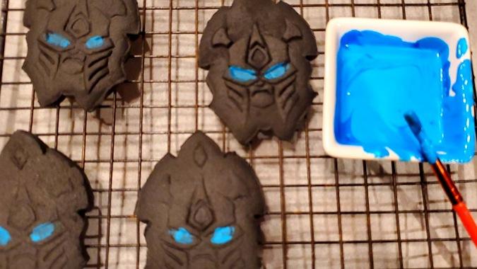 Cookies painted