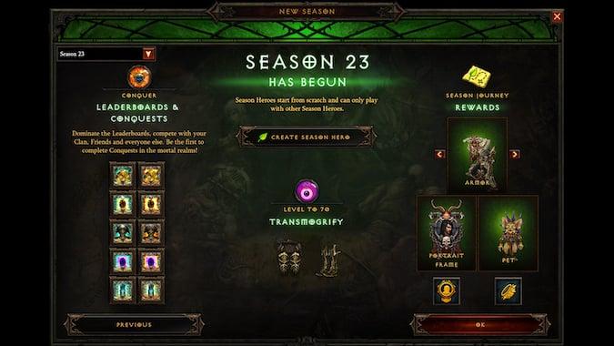 Diablo 3 Season 23