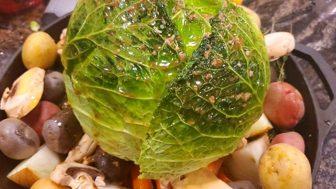 Glazed Cabbage