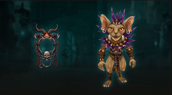 Diablo 3 Season 23 Portrait and Pet Rewards