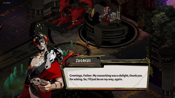 Zagreus from Hades
