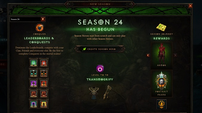 Diablo 3 Season 24