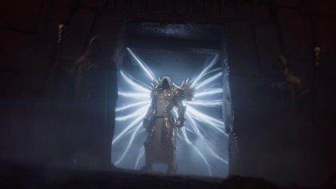 Tyrael in Diablo 2 Resurrected